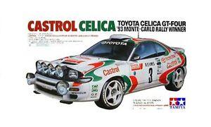 Tamiya 24125 1/24 Model Car Kit Toyota Castrol Team Celica GT-Four ST185 WRC'93