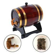Artisanat/Fût /tonneau/tonneaux de 3 litres Bois Chêne Neuf Fûts de vin Rétro