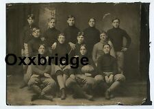 WOLVERINES FOOTBALL 1904 Vintage Photo Team Sports Sepia Michigan School Antique