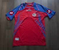 Costa Rica National Team Jersey Lotto Size S *F0109a3