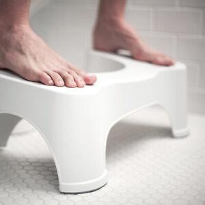 Foldable Toilet Squatting Stool Plastic Toilet Footstool Anti Constipation Stool