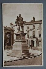 R&L Postcard: Robert Blake Statue Bridgwater