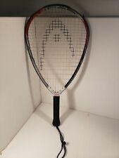 """HEAD Catapult 200 XL Racquetball Racquet Racket Grip Strung With Case 22"""" Long"""