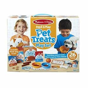 Melissa & Doug Feed & Play Haustier Leckereien Spielset & Plüsch Toy Tiere 26