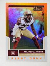 2017 Score First Down #345 Marquez White /10 - NM-MT
