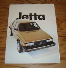 Original 1982 Volkswagen VW Jetta Sales Brochure 82