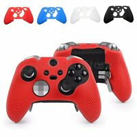 Silicone Skin Gel Case Cover Protector For Microsoft Xbox One Elite Controller
