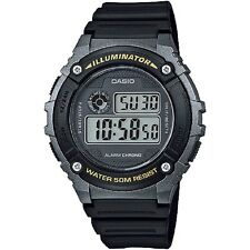 Casio W-216H-1BV Grey Black Sports Digital Watch with Box Included