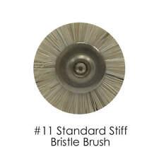 Dental Lab Stiff Bristle Brush #11, 48-Pieces
