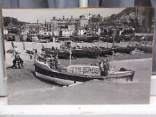 RNLI FAIRLIGHT HASTINGS LIFEBOAT RALPH WOOD JUNE 1974 BLACK WHITE PHOTOGRAPH