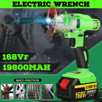 19800mAh 330N.m Electric Brushless Impact Wrench Cordless Impact Drill Tool