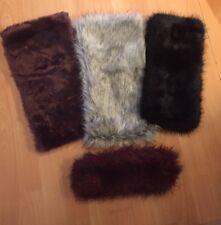 New Look/ Atmosphere Furry Snood/ Scarf/ Headband Bundle - Gorgeous!