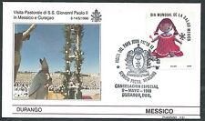 1990 VATICANO VIAGGI DEL PAPA MESSICO DURANGO - SV2