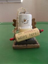 Vintage Midwest of Cannon Falls S'more An Angel Bakes Here Smore Ornament