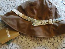 Barbour Hat Summer Wax Cloche. Bark/Strawberry Thief L