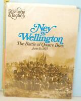 Strategy & Tactics No. 34 Ney vs Wellington Battle Quatre Bras June 1815 NOS SPI