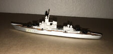MATCHBOX Sea Kings K-303 Battleship Die Cast Hull on Wheels 1976