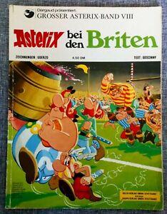 Asterix Bei Den Briten - Band 8 ( VIII )