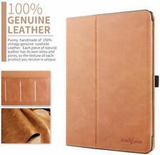 iPad Pro 11 Case Genuine Leather Smart Folio Cover With Magnetic Auto Wake Sleep