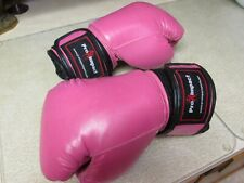 Boxing gloves Pro Impact Pink Leather 12oz Ml Lightly used