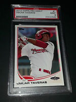 2013 Topps Pro Debut #1- Oscar Taveras Rookie Card! PSA MINT 9!