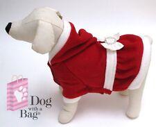 Mrs Santa Claus Christmas Dress Yorkie Chihuahua Dog Costumes Gift Medium