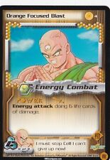 Orange Focused Blast - Dragonball Z CCG TCG DBZ - # n°4 - 1 Stars