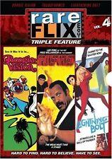 Rareflix Triple Feature 4: Boogie Vision/Lighting Bolt/Transformed (3-Disc Set)