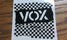 Vox Amplifiers 2 pc Large Sticker Set 7x3