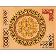Craftaid Celtic Circles and Borders Template 76610-00 by Tandy Leather