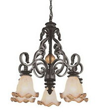 Rustic Bronze 5 Light Chandelier