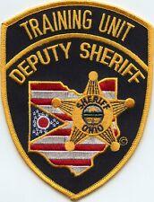 OHIO OH DEPUTY SHERIFF TRAINING UNIT Police Academy SHERIFF POLICE PATCH