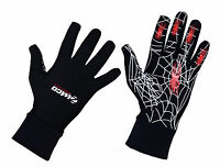 2 Pairs Zimco  Super Roubaix Running Gloves Winter Thermal Gloves Fleece Gloves