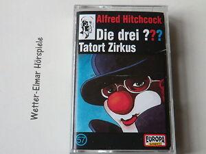 Die Drei ??? Fragezeichen - Tatort Zirkus - MC - Folge 57 - mit Logo