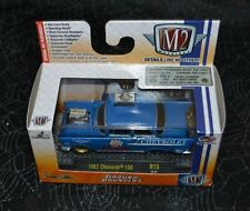 2016 M2 MACHINES CASTLINE GROUND POUNDERS 1957 CHEVROLET 150 BLUE R15