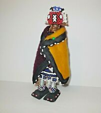"African Beaded Doll Figurine Ndebele Folk Art 9 1/2"" Tribal Ceremonial Initation"