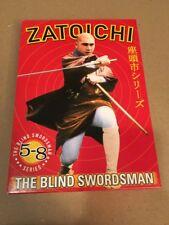 Zatoichi the blind swordsman Series Box 5 - 8 - Region 1 DVD japanese / engl. su