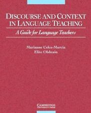 Discourse and Context in Language Teaching: A Guide for Language Teachers Cambr