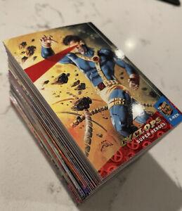 1994 Fleer Ultra X-Men Complete Base Set