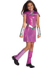 Dc Super Hero Girls Deluxe Starfire Teen Titans Child Halloween Costume