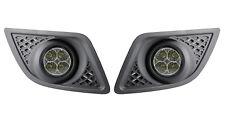 LED Tagfahrlicht Rund-Design + R87 Ford Fiesta MK6 Facelift E-Geprüft