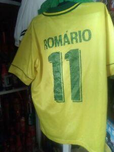 LOT RARE jersey camiseta adidas Nike SOCCER FOOTBALL trikot Romario Brazil PSV
