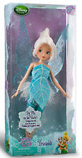"Disney Store Fairies Tinkerbell Periwinkle 12"" Classic Doll New"
