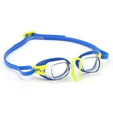 MP Michael Phelps Chronos Swedish Swimming Goggles - Clear Lens - Blue (185000)