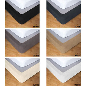 Apartmento STRETCH VALANCE Bed Skirt Wrap Single King Single Double Queen King