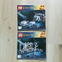 LEGO - INSTRUCTIONS BOOKLET ONLY - Lord of the Rings The Mines of Mori 9473