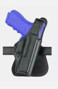 Safariland 518-183 paddle holster Glock 26 27 Black Leather Right Hand