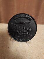 Chelyabinsk meteorite commemorative table medal, souvenir KASLI CAST IRON