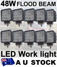 10X 48W Flood LED Off road Work Light Lamp 12V 24V car boat Truck UTE AU STOCK