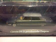 "DIE CAST "" CITROEN DS 21 PRESIDENTIELLE CHAPRON NIXON 1969 "" PRESIDENZIALI 1/43"